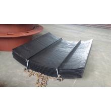 Chrome Carbide Overlay Belt Conveyor Chute Liner