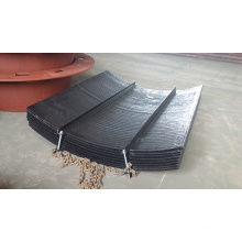 Chrome Carbide Overlay Belt Conveyor Chute Liner