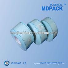 Rollo de papel estéril autoclave termosellable