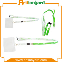 Lanyard with Soft PVC Pouch