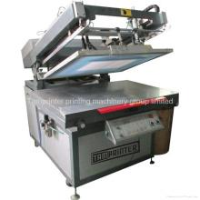 Tmp-70100 Marca Registrada Calendário Oblique Arm Flat Screen Printing Machine