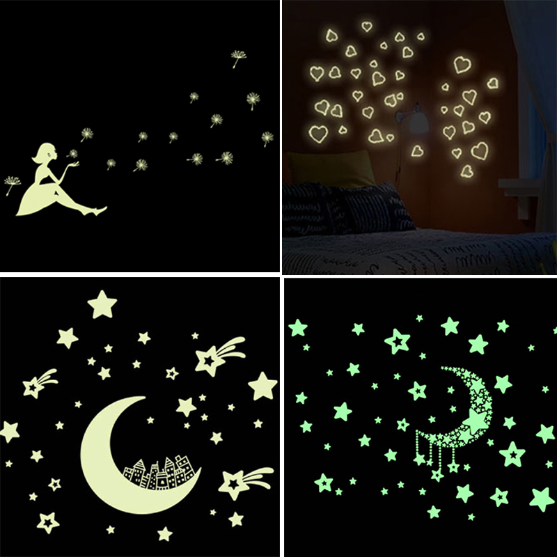 3D-Stars-Glow-In-The-Dark-Luminous-Fluorescent-Plastic-Wall-Stickers-Living-Home-Decor-For-font