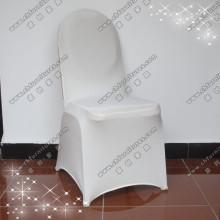 Spandex стул Обложка / Обложка свадебного стула / Белый Обложка стула