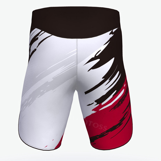 Best quality muay thai shorts red mma shorts