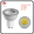 7W ETL Listado 630lm GU10 LED Foco