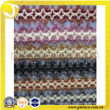 Lace polyester yarn trimming lace fringe trims
