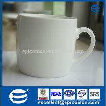 Super blanco Una taza de consumición de la nueva China de hueso del grado 10oz nueva taza del hueso de 300ml