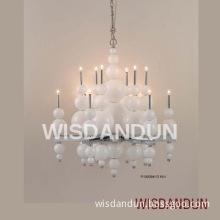 hot-selling decorative glass pendant lamp & chandelier lighting