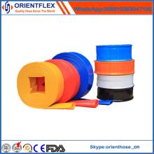 Manguera de riego plana de PVC de gran diámetro para el proveedor