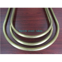 Cold Drawn Seamless Copper Alloy U Bending Tube