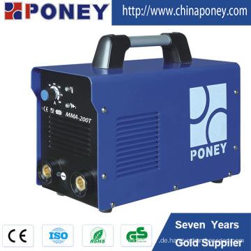 Inverter Arc Welding Machine Portable DC Schweißer MMA-125t / 145t / 160t / 180t / 200t