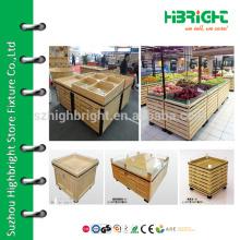 supermarket vegetable display case,vegetable stand basket