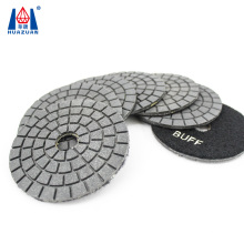 Black Dry Type Buff Diamond Polishing Pad For Marble Granite