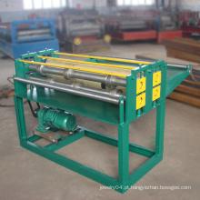 Novo estilo de aço inoxidável máquina de linha de corte de bobina