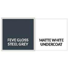 Glossy Steel Grey Aluminum Sheet Plate 1.6mm