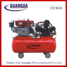 CE SGS 180L 10HP Belt Driven Diesel Air Compressor (W-0.97/12.5)
