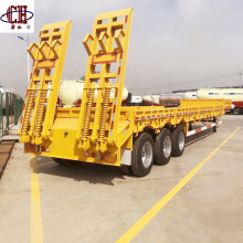 3 Axles 60T Low Bed Semi Trailer