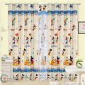 China supplier ready made cartoon patterns kids door curtains
