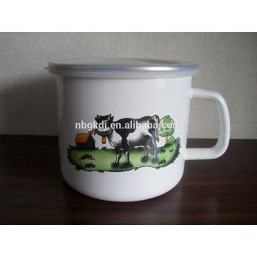 Enamelware Mug chinese tea pot