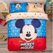 100% algodão de alta qualidade conjunto de cama para Childrencomforter Duvet Cover Bedding Set