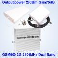 2g / 3G / 4G Dual Band Handy Signal Enhancer Signal Repeater 3G für Verkauf