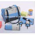 2017 nouveau mode bébé sac à langer longue bandoulière multi-fonction imperméable à l'eau sac momie momie