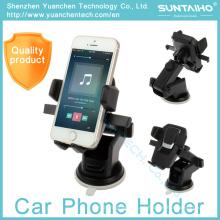 Suporte de telefone de carro ajustável 360 suporte de sucção para iPhone Samsung