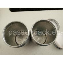 Embalagem de alimentos de alumínio pode com revestimento interno transparente (PPC-AC-052)