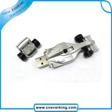 Plastic Novelty Racing Car USB Drive
