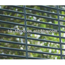 Cerco de alta segurança galvanizado / malha 358