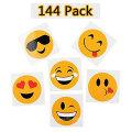 vendas quentes OEM presentes decorativos bonito dos desenhos animados crianças emoji adesivo