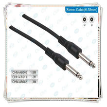 6.35mm cable with 1/4 Stereo plug audio cable