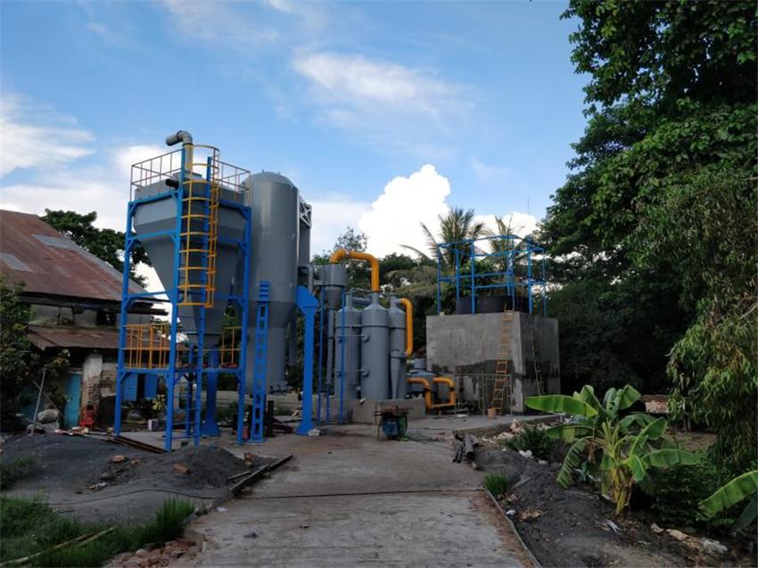 Biomass gasifier power
