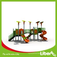 2014 Liben Neue Populäre Kinder Plastik Outdoor Spielplatz für Vergnügungspark (LE.QI.011)