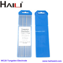 Cerium Tungsten Electrode For Tig Welding WC20