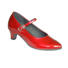 girls red ballroom shoes