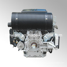 Air-Cooled Two Cylinder Gasoline Engine with Muffler (2V78F)