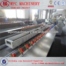 Máquina de produção de perfil WPC Linha de produção de perfil WPC