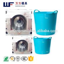 Soft plastic Bath barrels mould made in China/OEM Custom plastic injection Sof plastic Bath barrels mold making