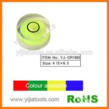 plastic circular vial with ROHS standard YJ-CR1263