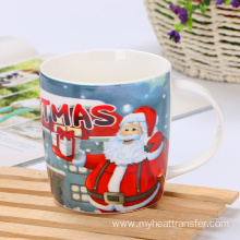 Custom christmas ceramic mug