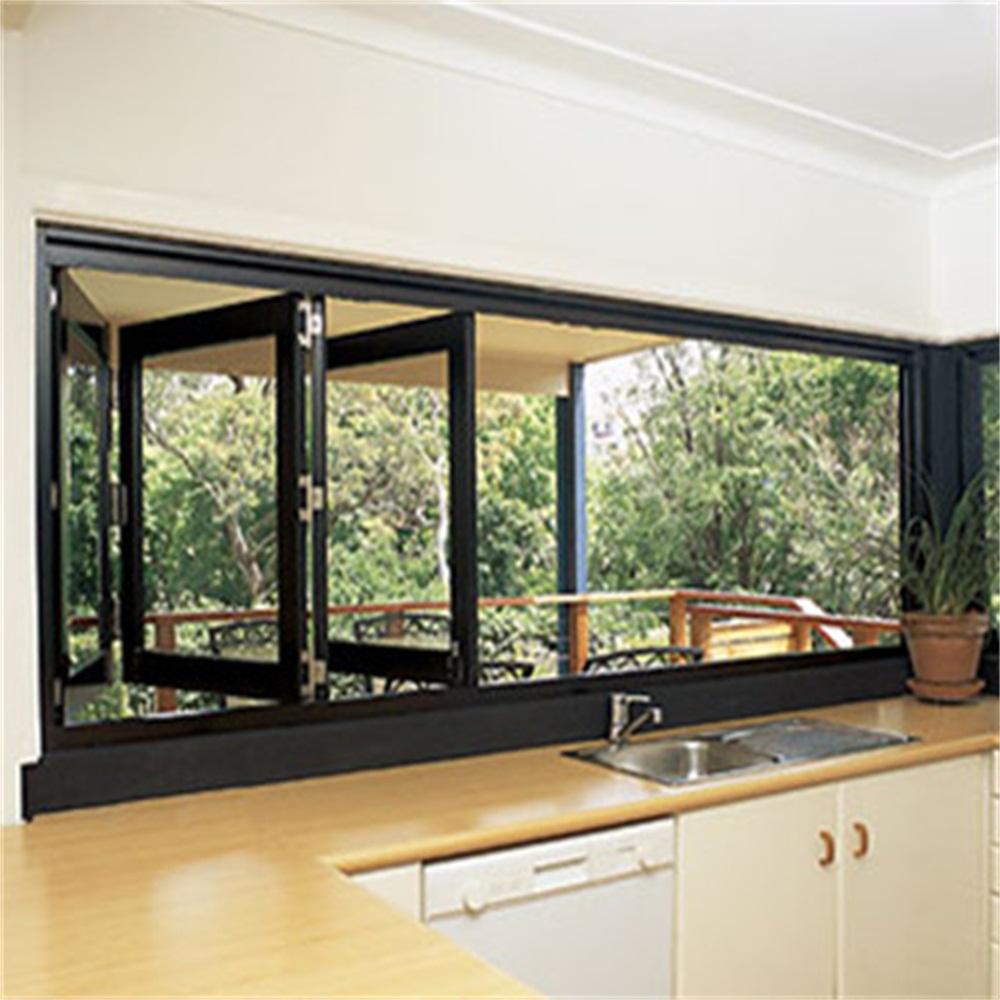 Sunsia Aluminum Bifold Window China Manufacturer