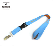 Factory Custom Cheap Woven Polyester Lanyard with Detachable Buckle