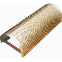 Producción Especializada Chapa de Metal Perforada Ventilada