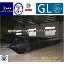 Caoutchouc trempé-Nylon pneu tissu mixte caoutchouc naturel navire récupération airbag