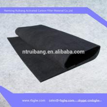 Tecido de fibra de carbono de carvão ativo para venda
