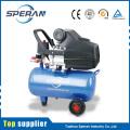 Cheap portátil 24L 2hp pistón directo accionado pequeño compresor de aire con rueda