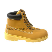 Full PU Upper Gentleman Style Safety Shoes (HQ06002)