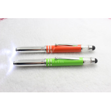 Nice Metal Pen with LED Light Christmas Gift