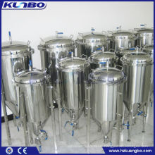 stainless steel double jacket beer yeast tank